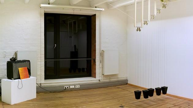 Sirens - Hochschultage 2015 exhibition setup